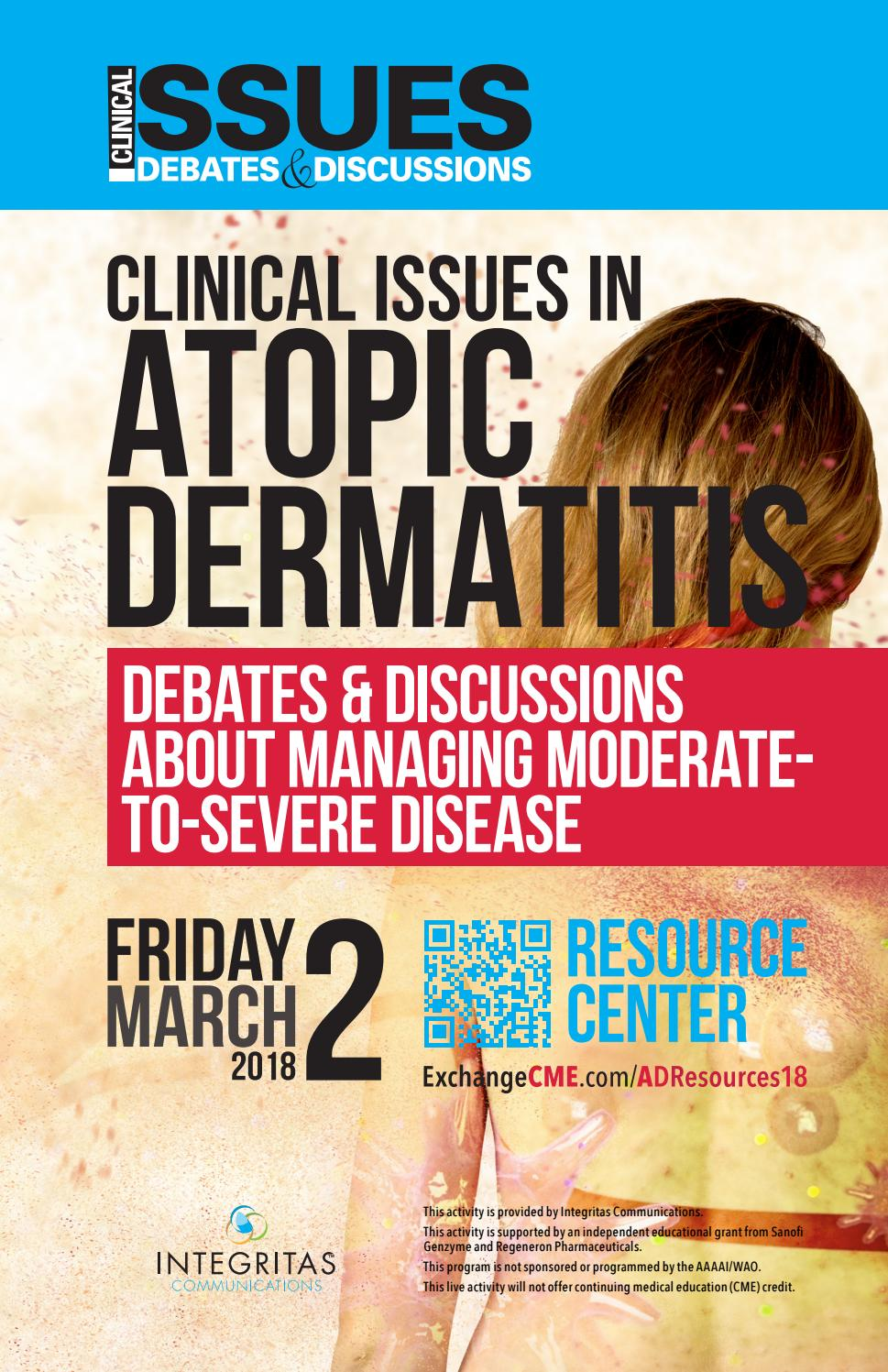 Clinical Issues in Atopic Dermatitis by Integritas