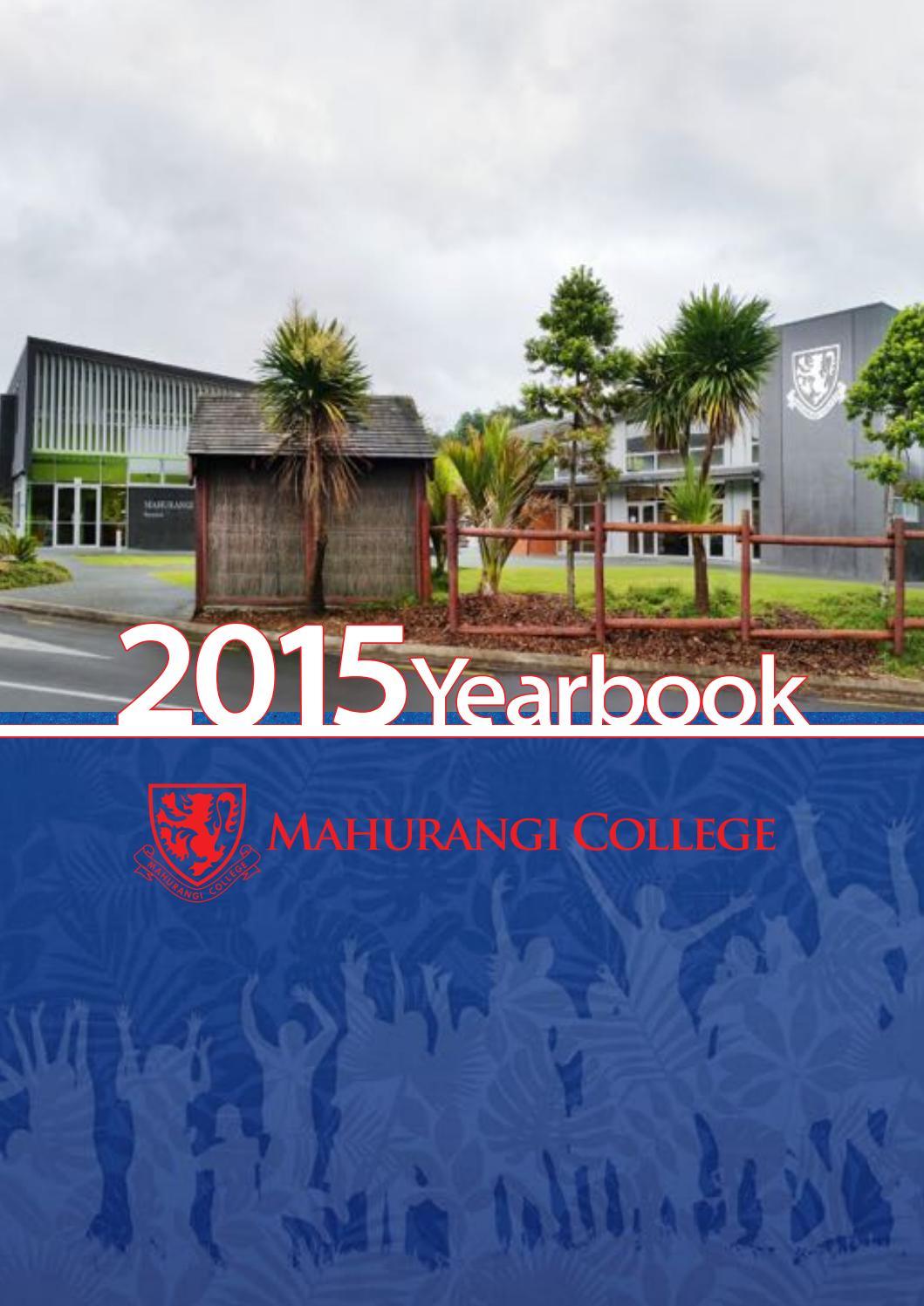 Mahurangi College Yearbook 2015 by Mahurangi College - issuu