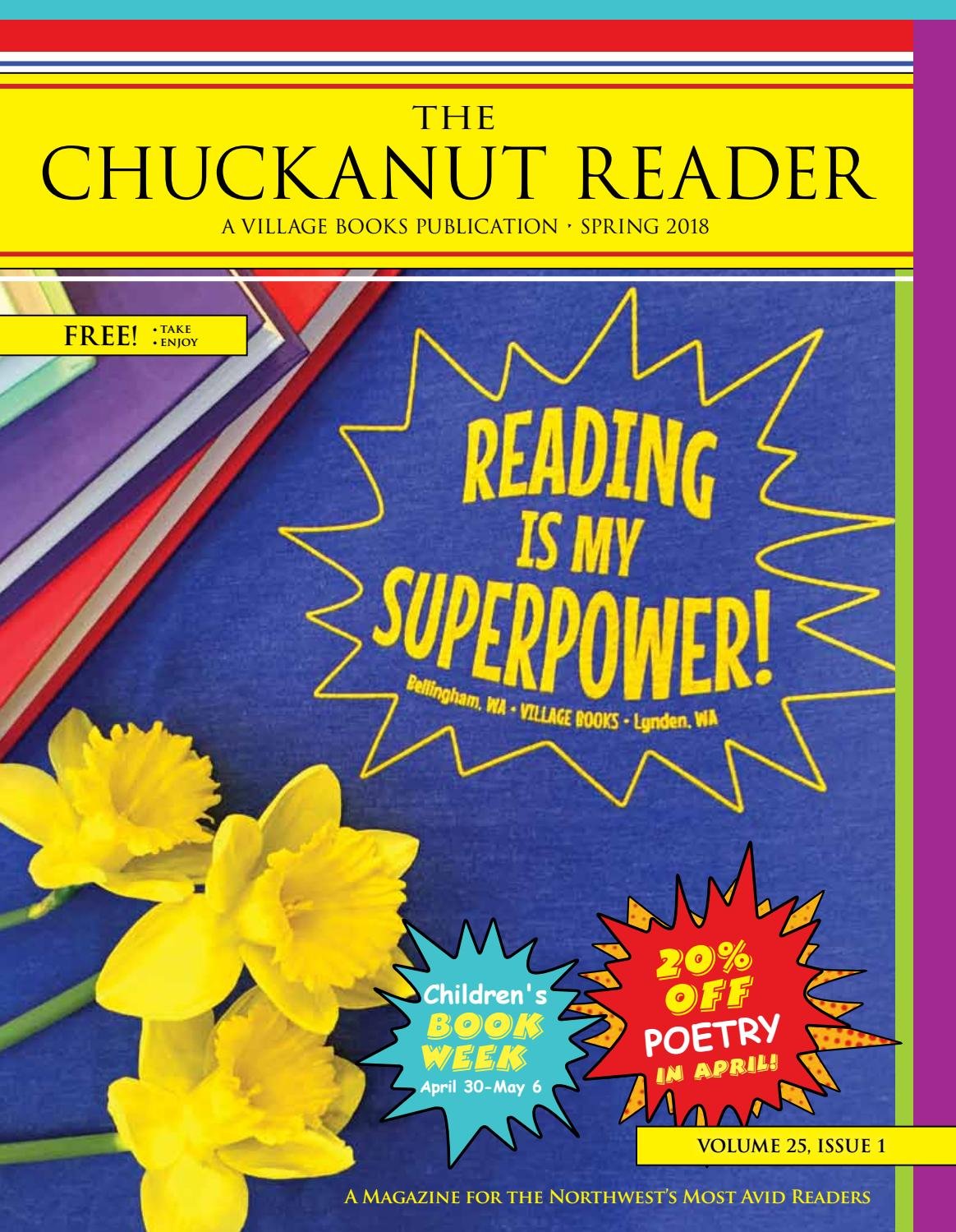 Chuckanut reader spring 2018 by village books paper dreams issuu fandeluxe Images