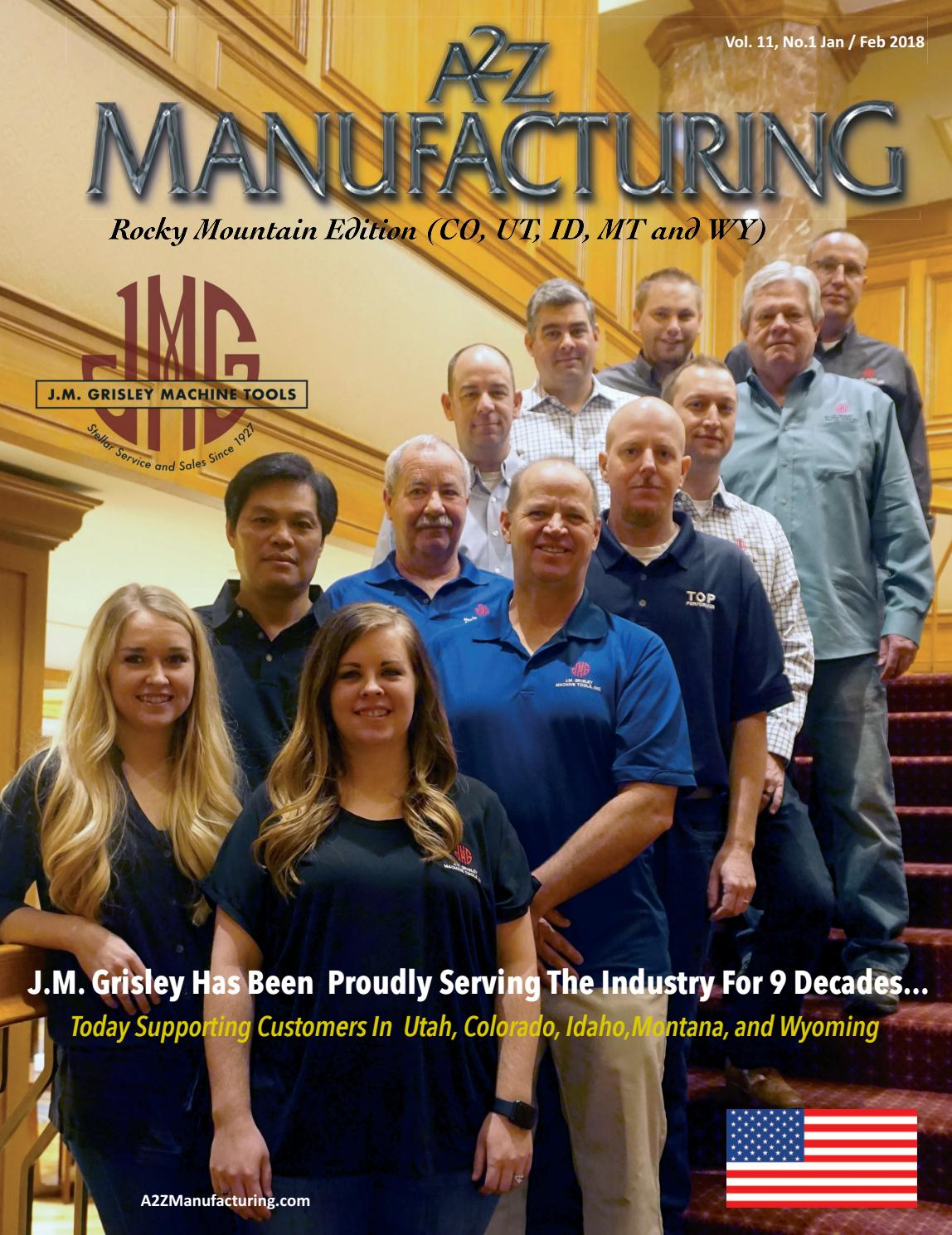 Rm Feb 2018 By A2z Manufacturing Magazines Issuu