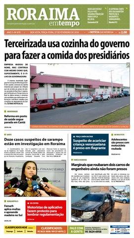 dcc0c037a50dc Jornal roraima em tempo – edição 870 by RoraimaEmTempo - issuu