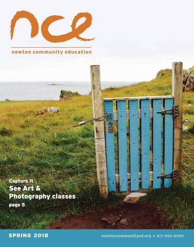 Spring 2018 Catalog - NCE by Newton Community Education - issuu