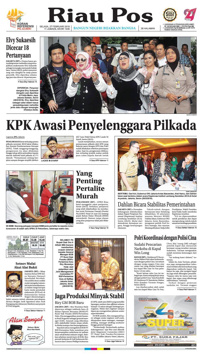 2018 02 27 By Riau Pos Issuu