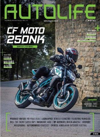 Volume 6 Issue 9 - CF Moto 250NK by AutoLife (Nepal) - issuu