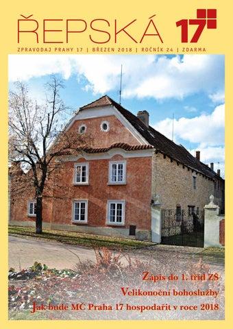 Řepská sedmnáctka - časopis MČ Praha 17 by Praha 17 Řepy - issuu db2f786393