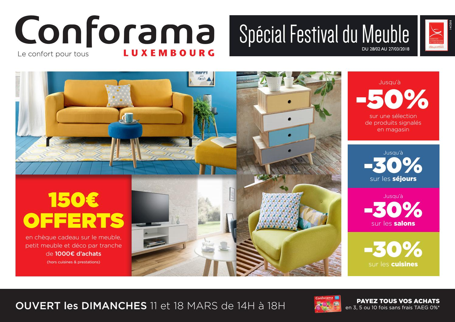 By Luxembourg Conforama Doc Festival Meuble Du Issuu 14Spécial pGLUzSVMq