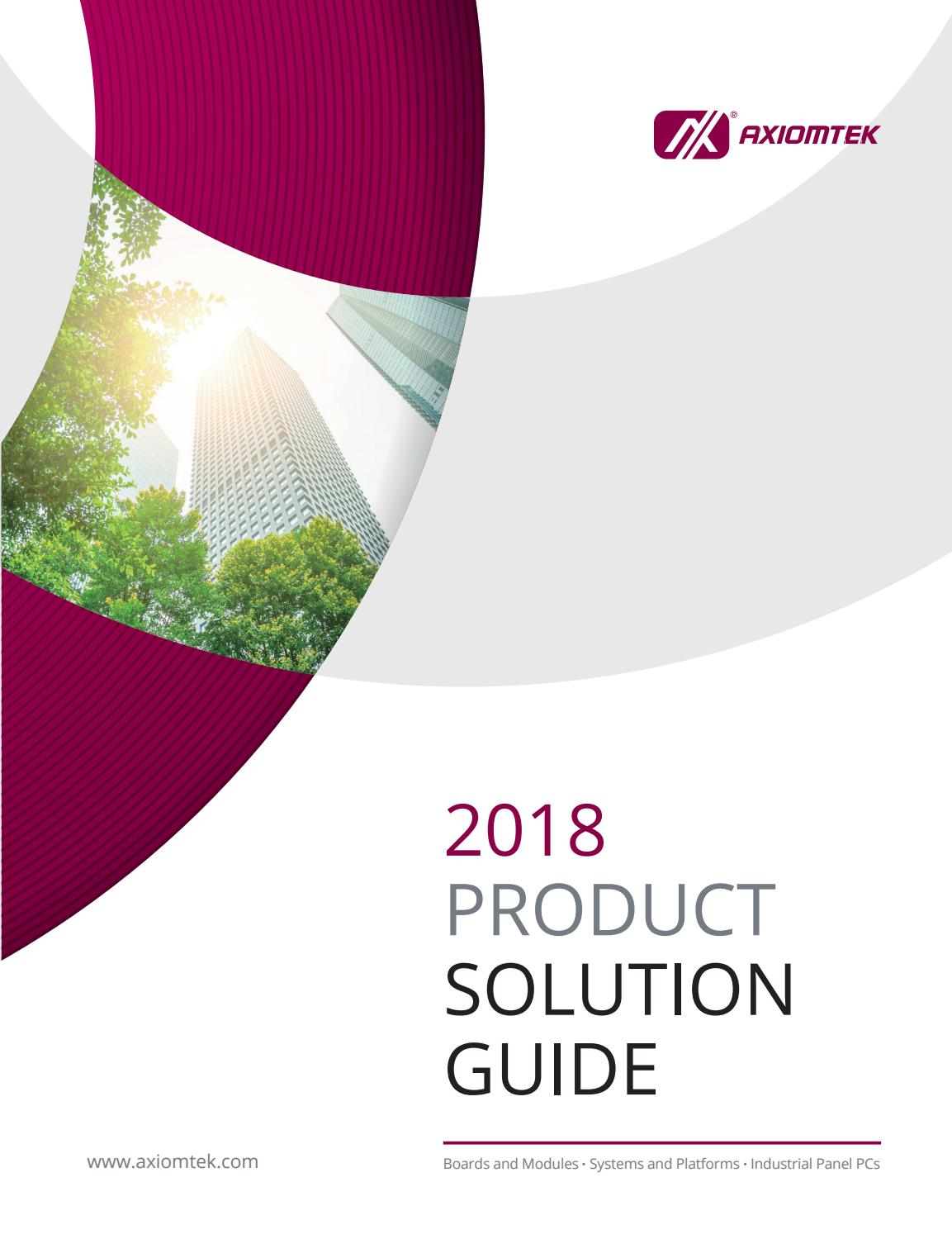 2018 Product Solution Guide By Axiomtek Issuu Quickswitch Highspeed Cmos