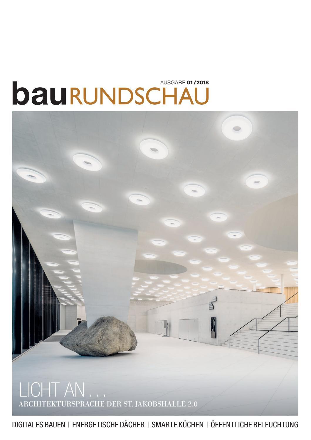 bauRUNDSCHAU 01/2018 by rundschauMEDIEN AG - issuu