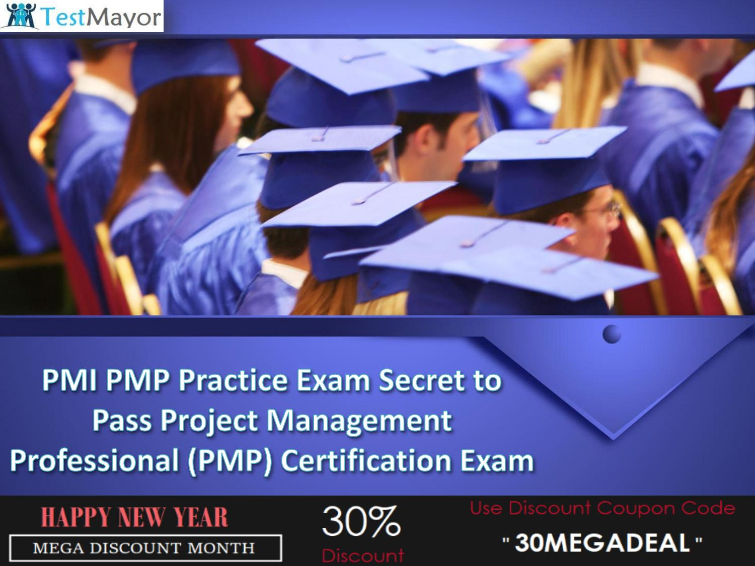 Pmi Pmp Practice Exam Secret To Pass Project Management Professional