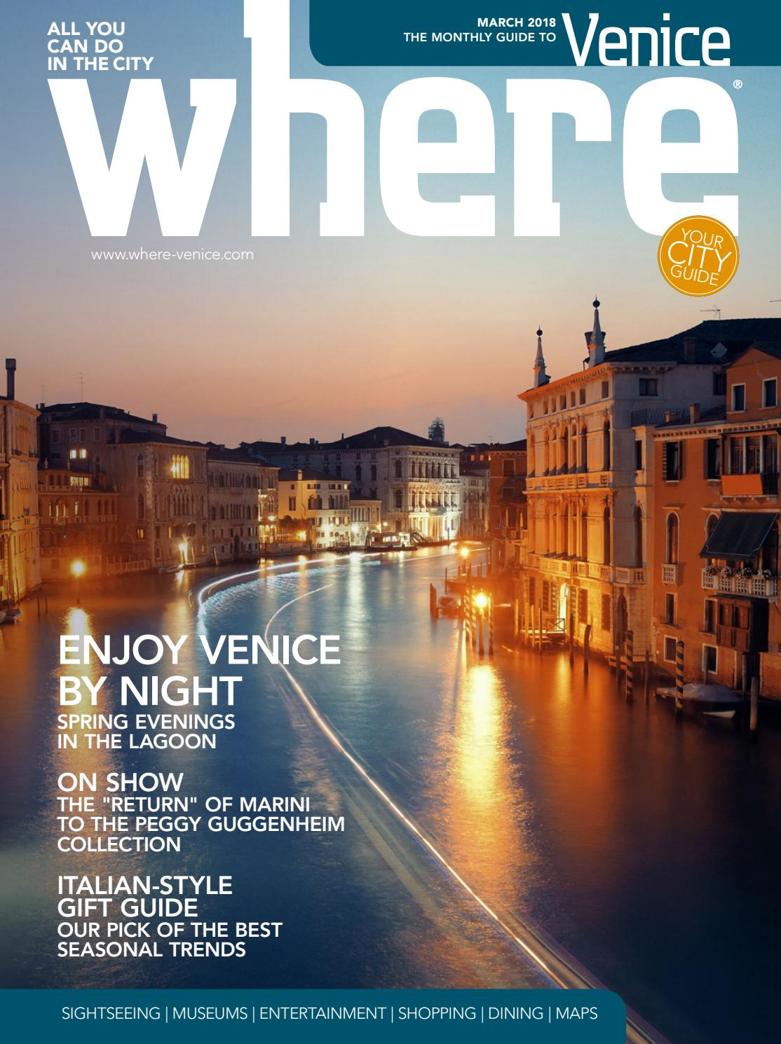 Vincenzo Rinaldi Nova Milanese where venice n 19 march 2018 by where italia - issuu