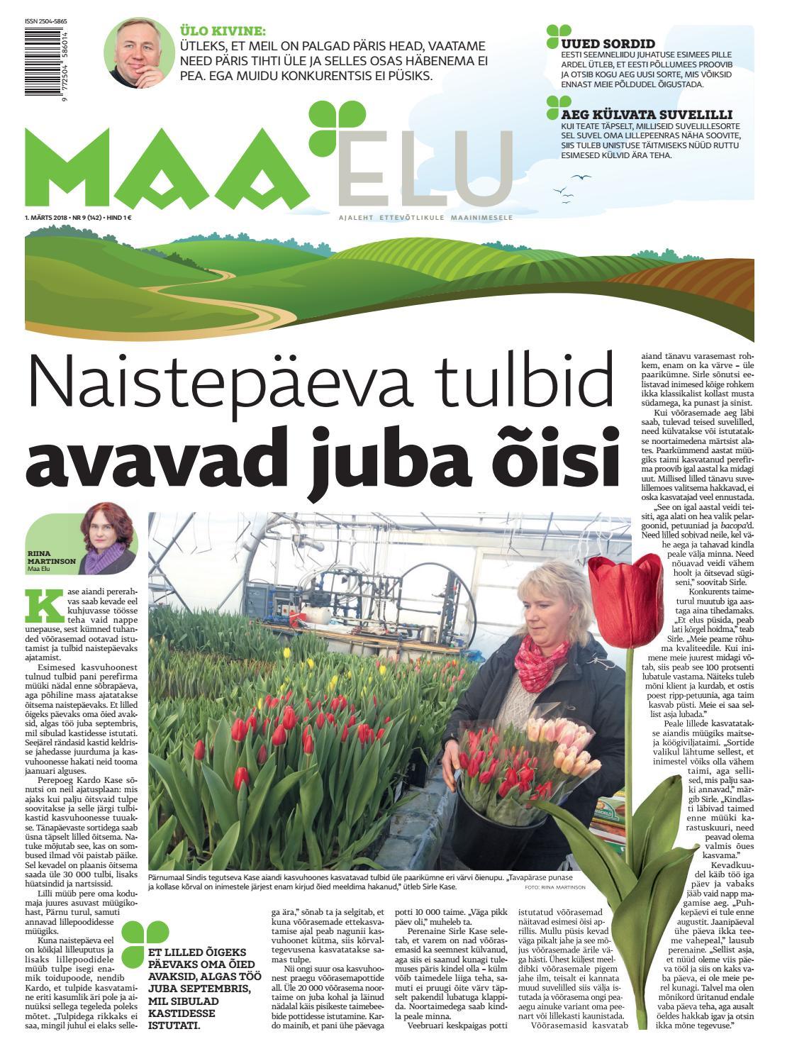 153c7212694 Maa Elu, 1. märts 2018 by AS Eesti Meedia - issuu