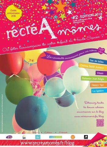 Guide Nouveautés Anniversaires Enfants 2018 Magazine Récréamômes