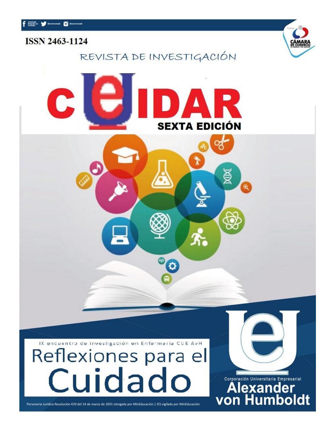 Revista Cuidar II 2017 (1) by comunicacionesCUE - issuu