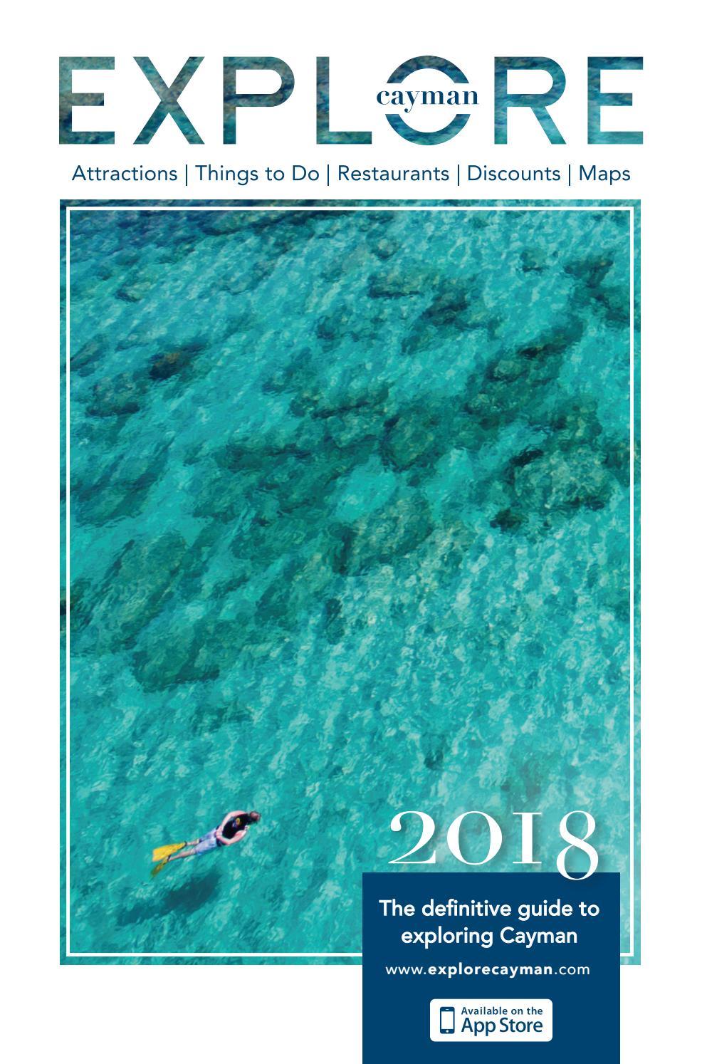 Explore Cayman 2018 By Parent Issuu Snap Circuits 300 Project Kit Shop Atjm Cremps Adventure Store