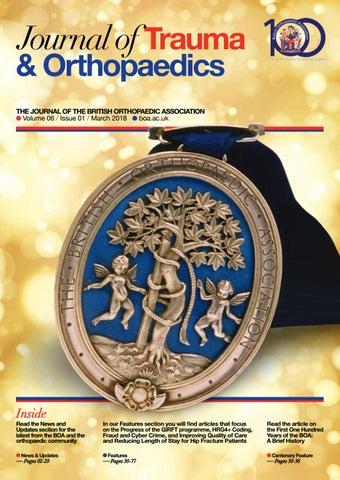 Journal of Trauma & Orthopaedics – Vol 6 / Iss 1 by British