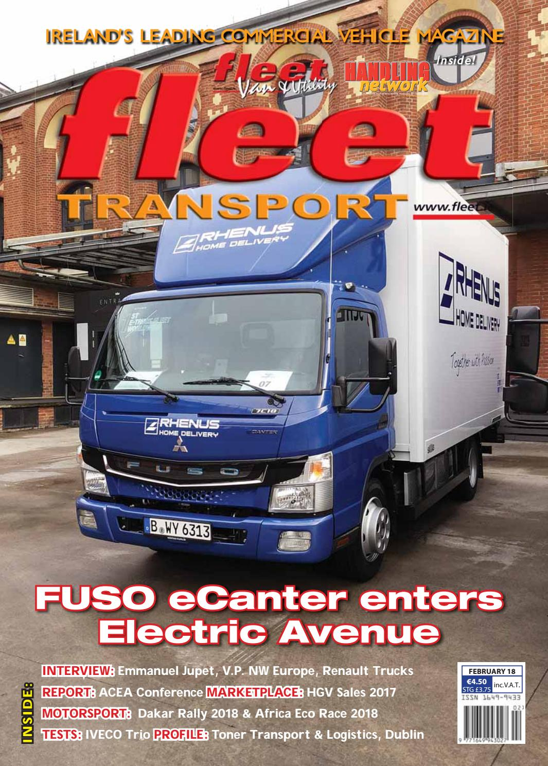 Fleet transport feb18 webfull by Fleet Transport - issuu