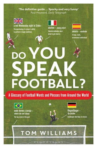 Do You Speak Football  by Bloomsbury Publishing - issuu 281d890df9a49