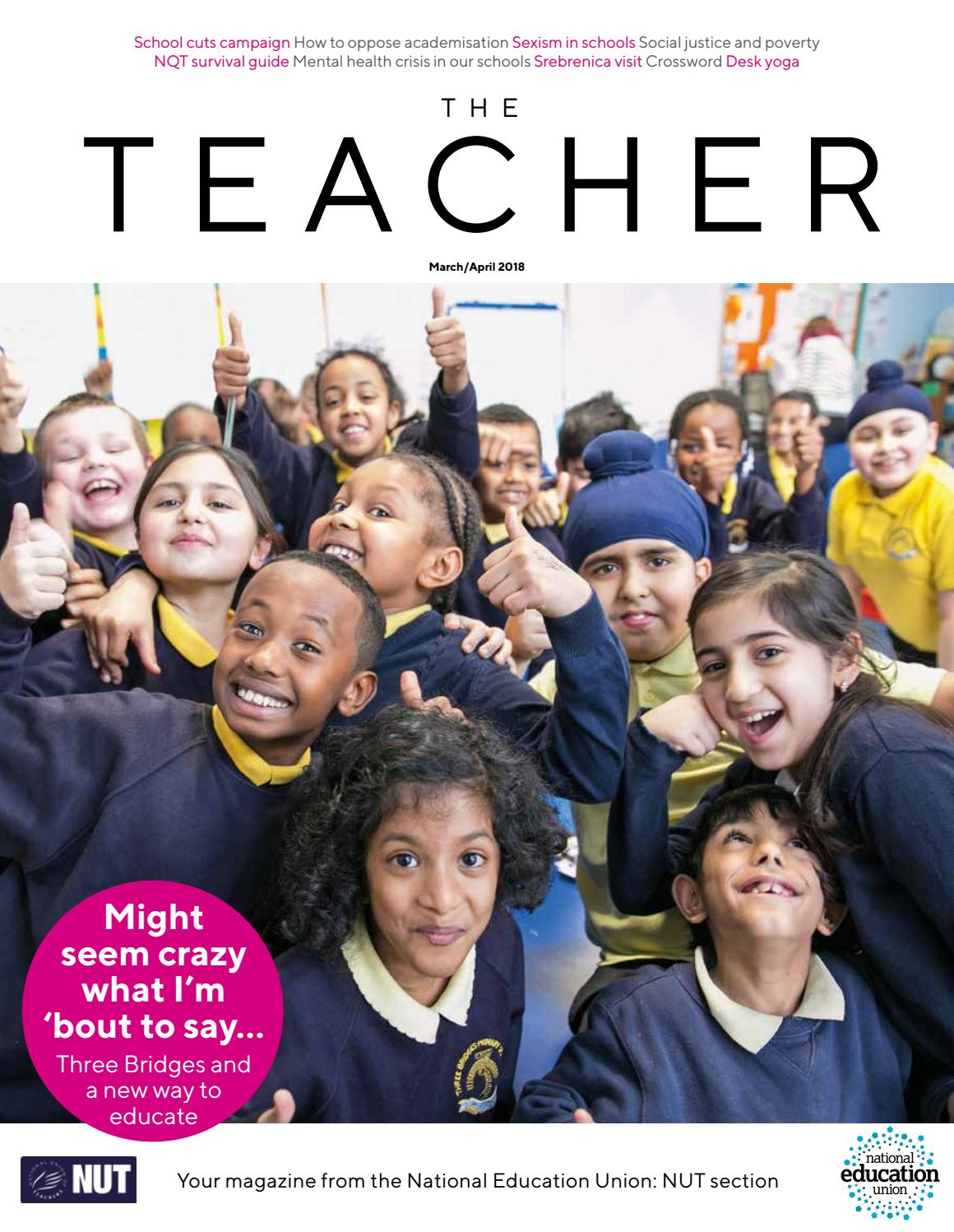 4d1000acff100f The Teacher – March 2018 by Educate Magazine - issuu