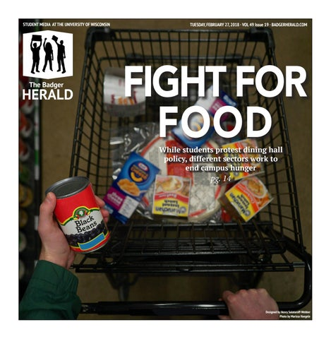 'Fight For Food' - Volume 49, Issue 19