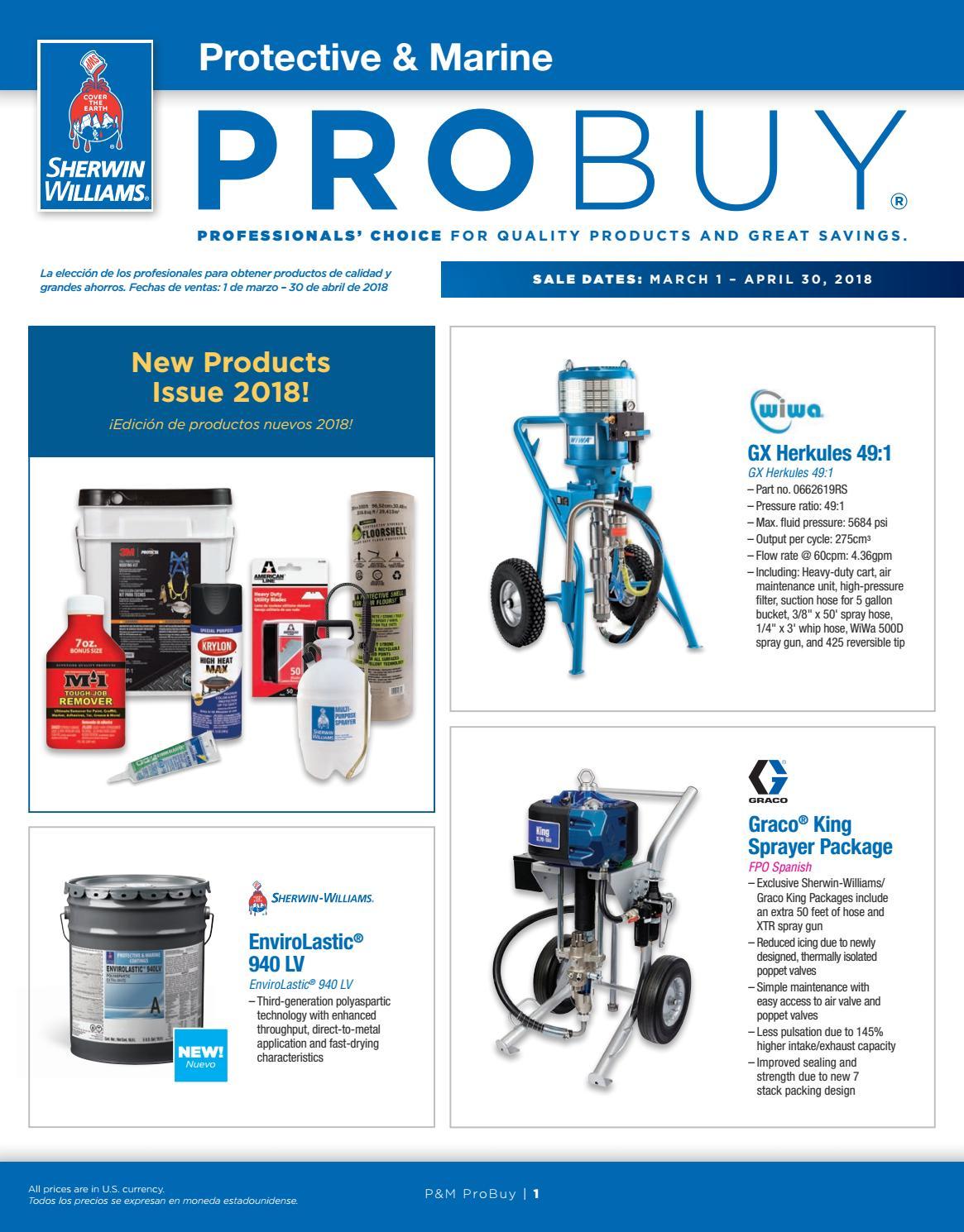 P&M ProBuy March April 2018