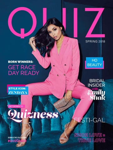 7373f51ff3b056 Quiz Magazine Spring 2018 by Quiz Clothing - issuu