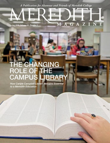 Spring 2018 Meredith College Magazine by Meredith College