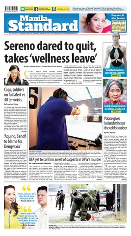 90a8e9a8e46f Manila Standard - 2018 February 28 - Wednesday by Manila Standard ...