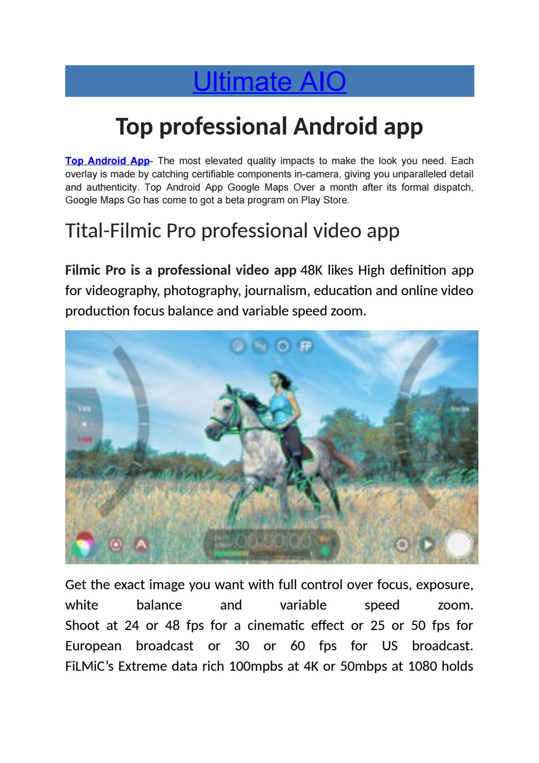 Top professional android app by emma watson - issuu