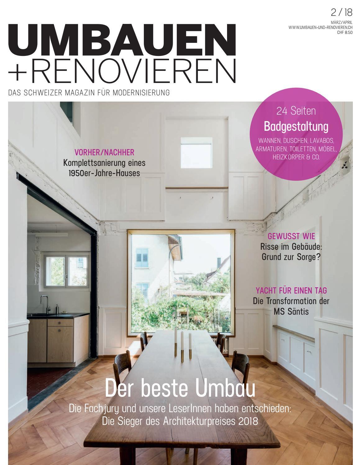 UMBAUEN + RENOVIEREN 02/2018 by Archithema Verlag - issuu