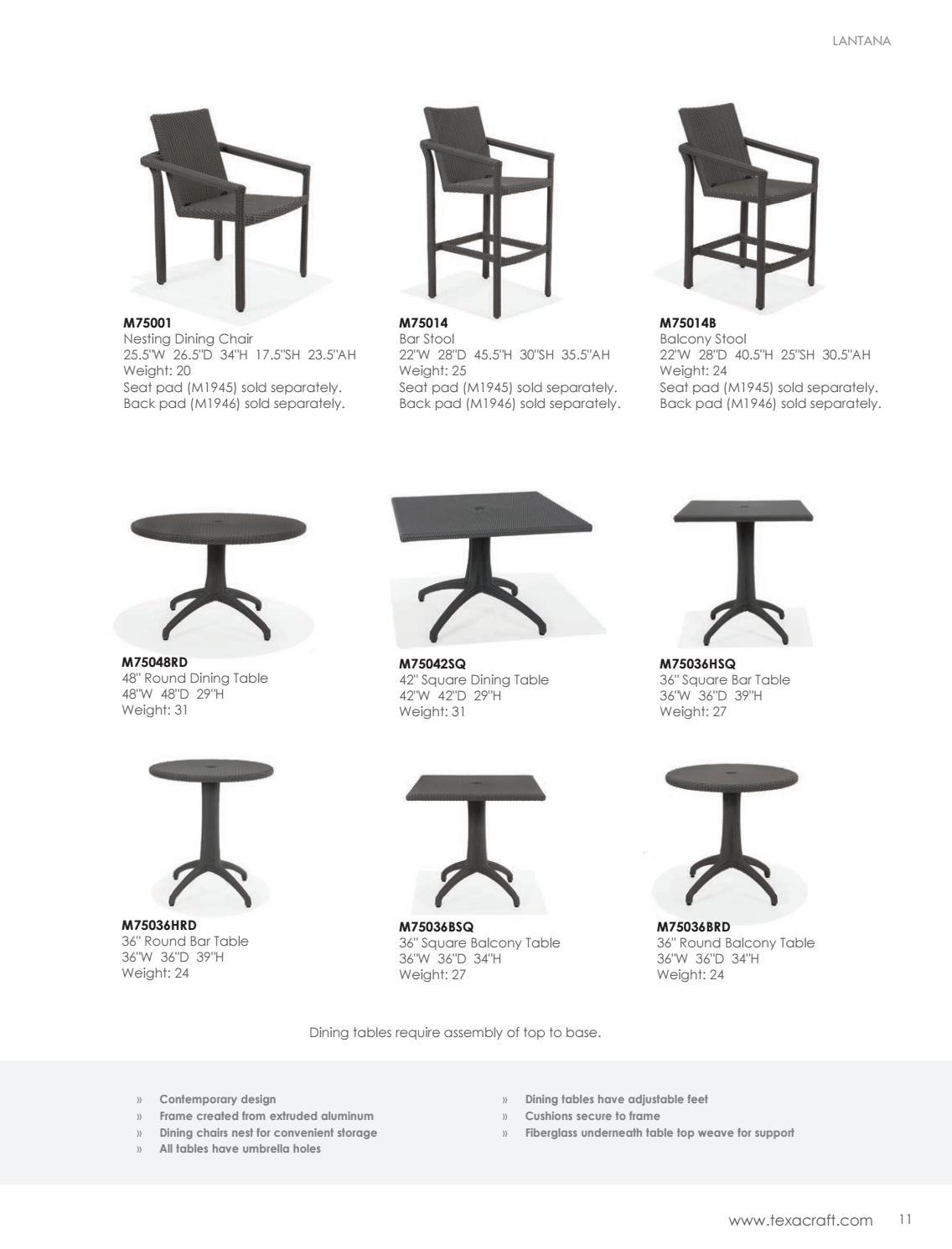 Phenomenal 2018 Texacraft Catalog By Winston Furniture Issuu Machost Co Dining Chair Design Ideas Machostcouk