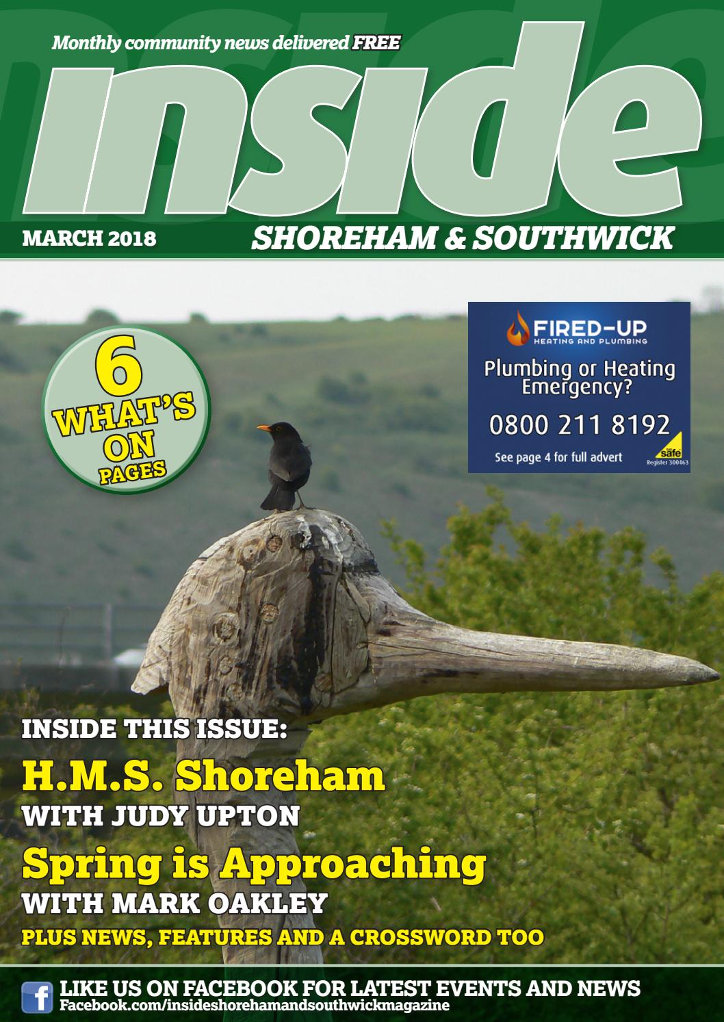 Inside Shoreham & Southwick, March 2018 by The Magazine