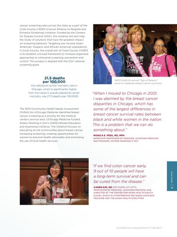 2017 Community Benefit Annual Report By Uchicago Medicine Community Benefit Report Issuu