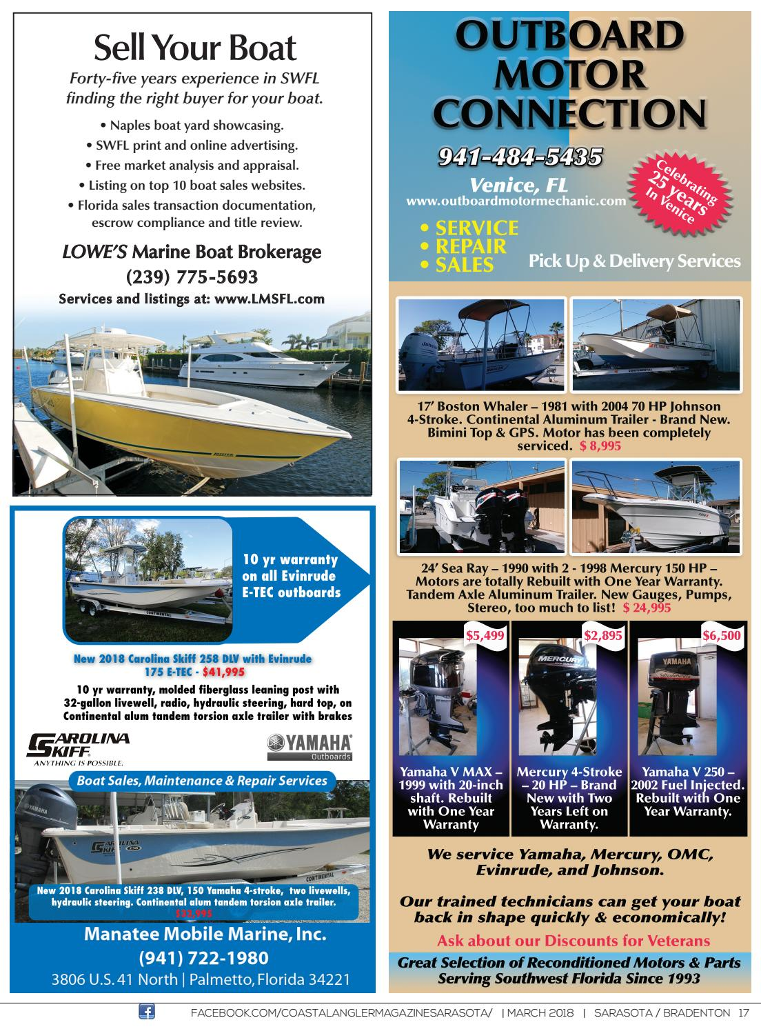 Coastal Angler Magazine - March / Sarasota by Coastal Angler