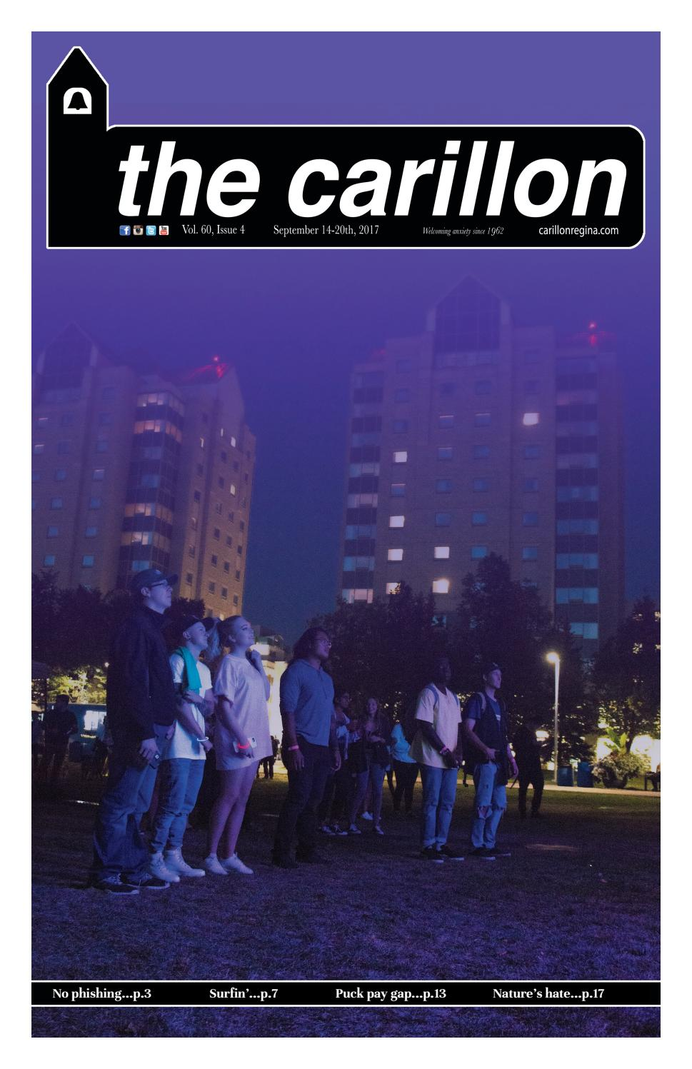 Carillon (Vol  60 Iss  4) by The Carillon Newspaper - issuu