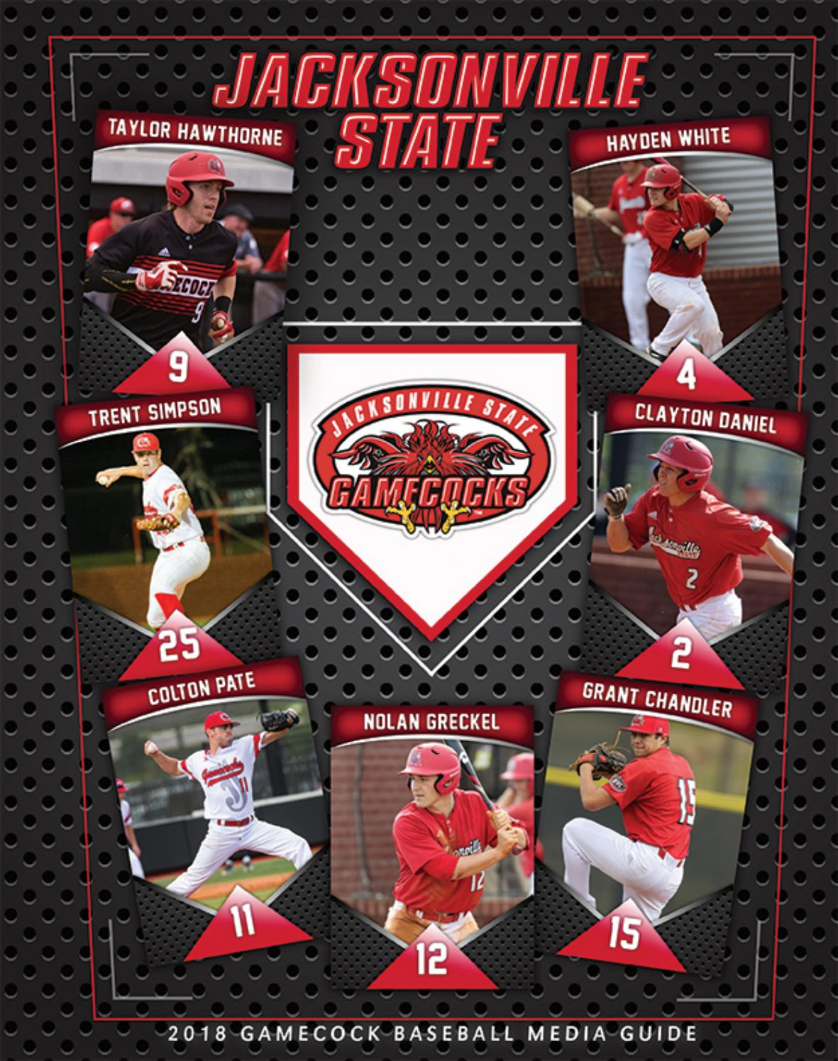 2018 Jsu Baseball Media Guide By Jacksonville State Athletics Issuu Hobby Diy Projects And Circuits Delabs