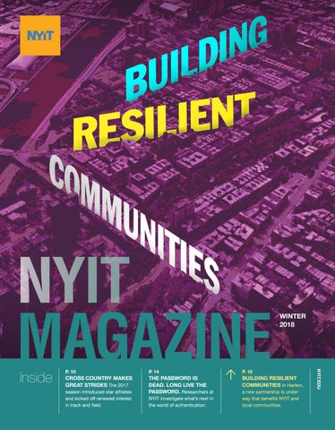 NYIT Magazine Winter 2018 by NYIT Magazine - issuu