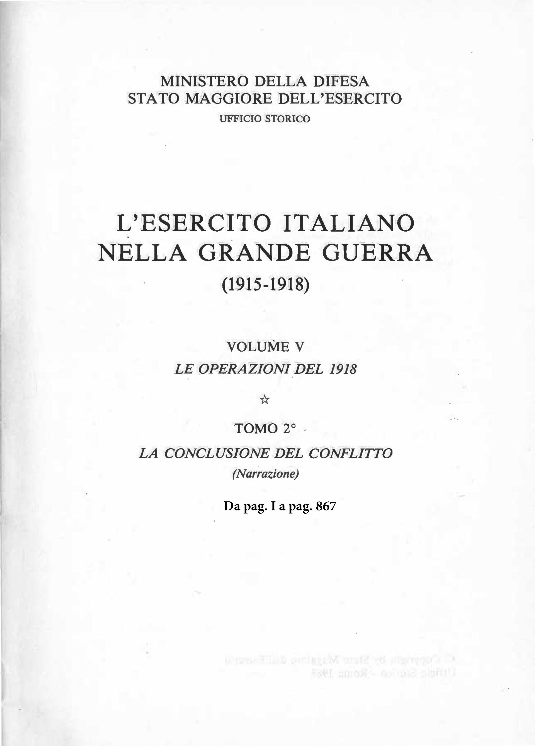 L ESERCITO ITALIANO NELLA GRANDE GUERRA- VOL.V tomo 2 by Biblioteca  Militare - issuu 8b1080d256f5