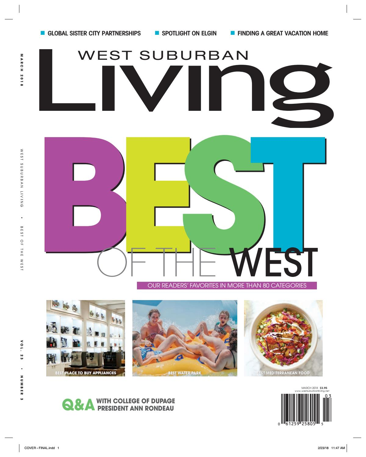 0f4004d8ebf55 West Suburban Living Magazine March 2018 by West Suburban Living Magazine -  issuu