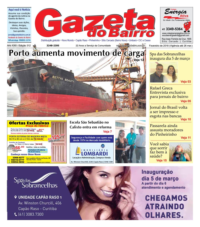 f86a958c4 Gazeta do Bairro Fev 2018 by Gazeta do Bairro - issuu