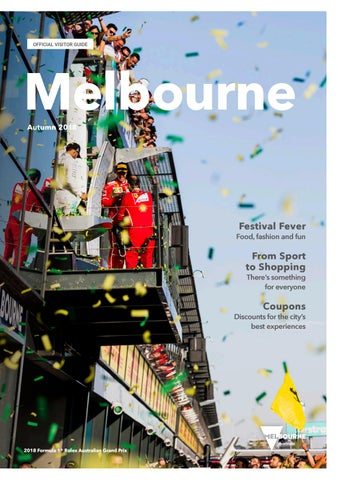 Melbourne official visitors guide autumn 2018 by destination page 1 fandeluxe Choice Image