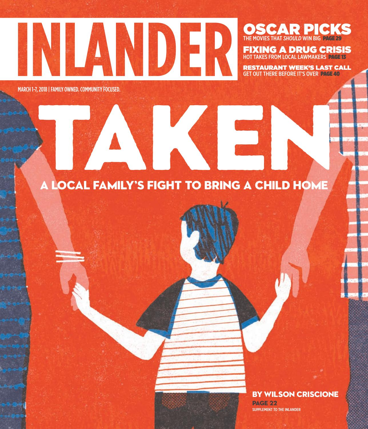 c1819a0d4d769a Inlander 03 01 2018 by The Inlander - issuu