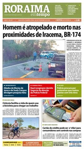 Jornal roraima em tempo – edição 871 by RoraimaEmTempo - issuu d0206e9a486