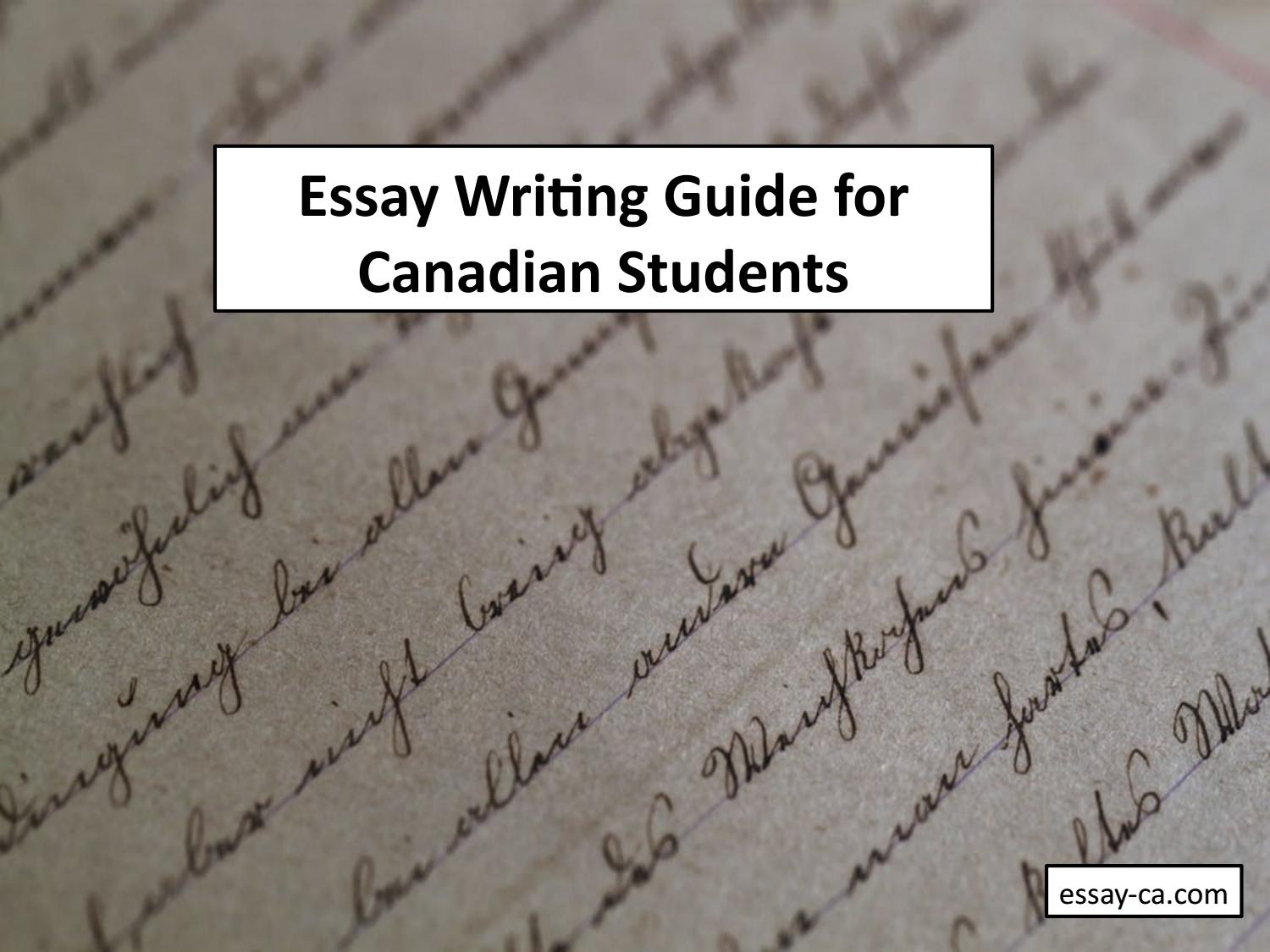 essays on canadian writing 69 Professional custom writing service offers custom essays, term papers, research papers, thesis papers, reports, reviews and dissertations, plagiarism free.