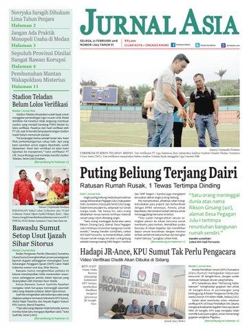Harian Jurnal Asia Edisi Selasa, 27 Februari 2018