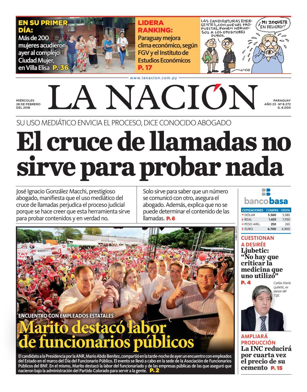 DIARIO LA NACIÓN - EDICIÓN 8.272 by La Nación - issuu