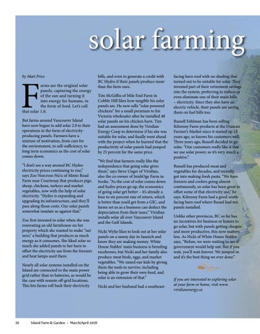 Page 16 of Solar Farming Taking Root