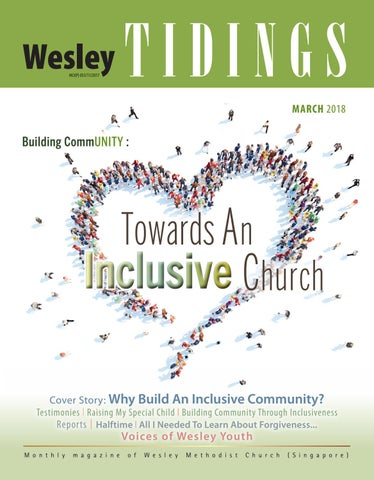 Wesley Tidings Newsletter March 2018 by Wesley Methodist