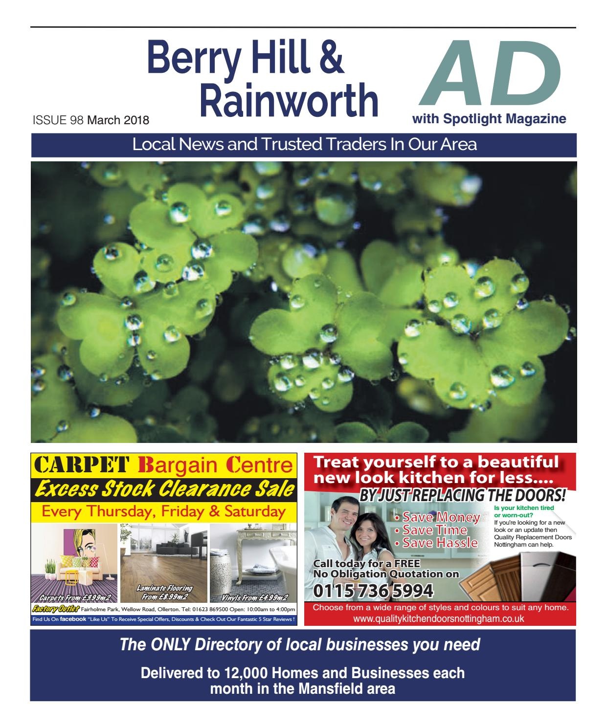 Ad Newspaper for Berry Hill & Rainworth in Mansfield