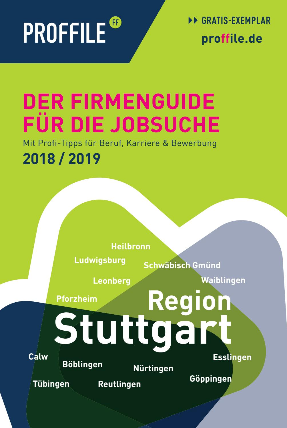 Proffile Stuttgart 2018 - Buch by SMK Medien GmbH & Co. KG | PROFFILE -  issuu