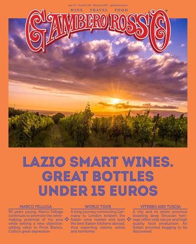 Gambero Rosso Wine Travel Food - February 2018 by Gambero